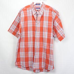 Pendleton Mens Large Button Front Plaid Shirt